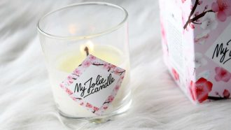 bougie jolie candle