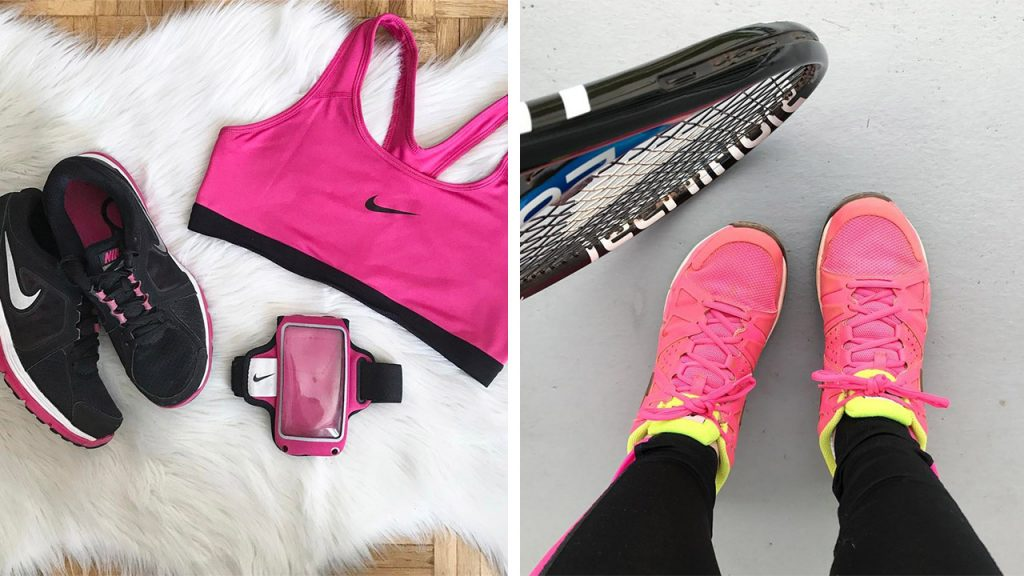 tennis running