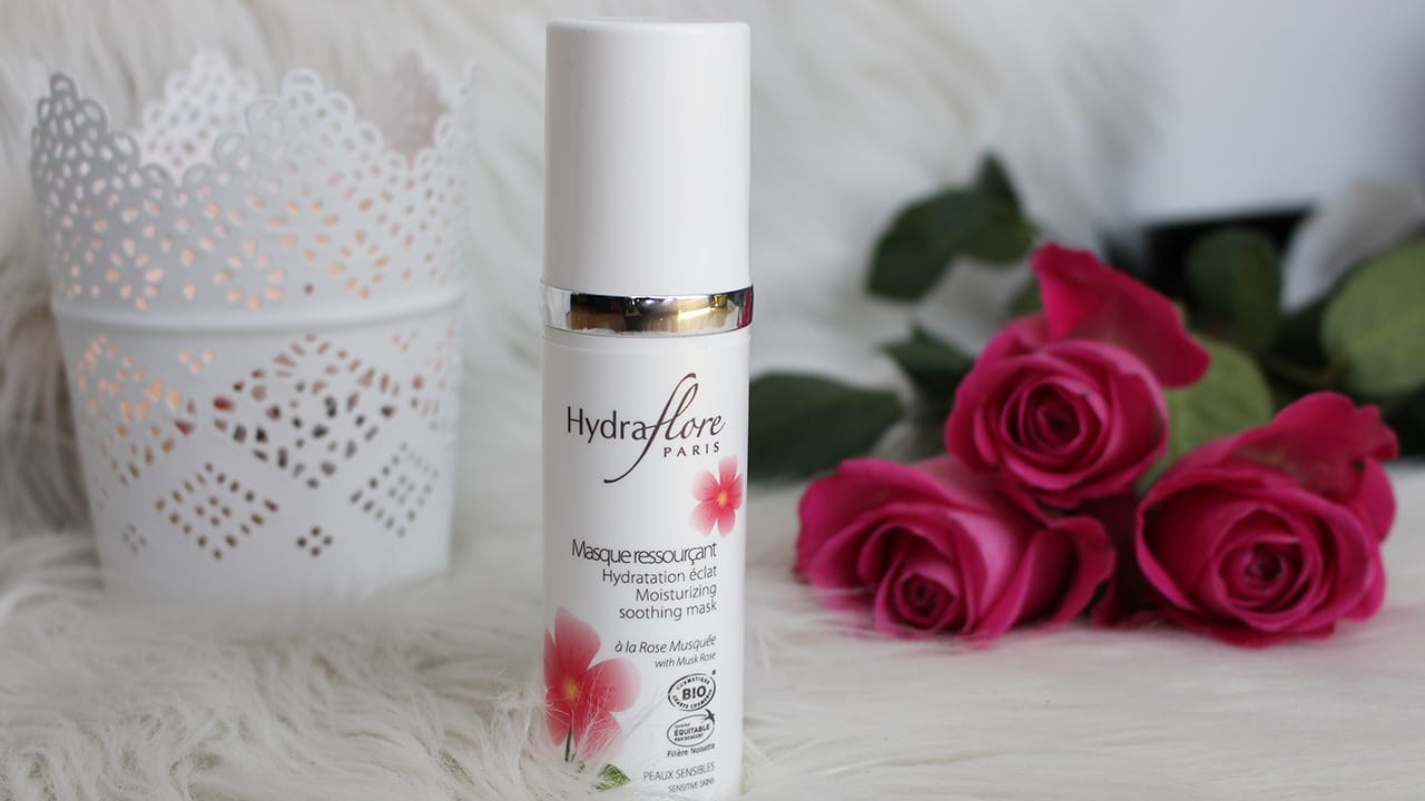 masque hydratant rose