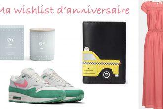 wishlist anniversaire