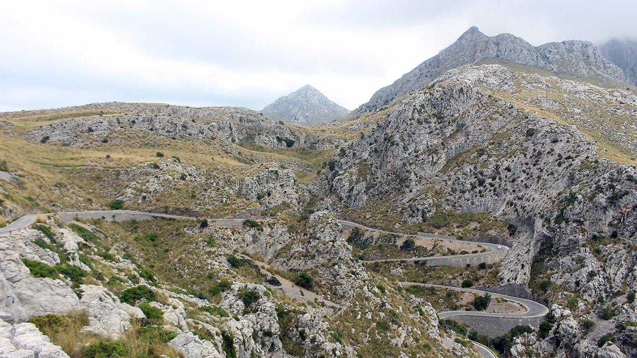 route montagne majorque