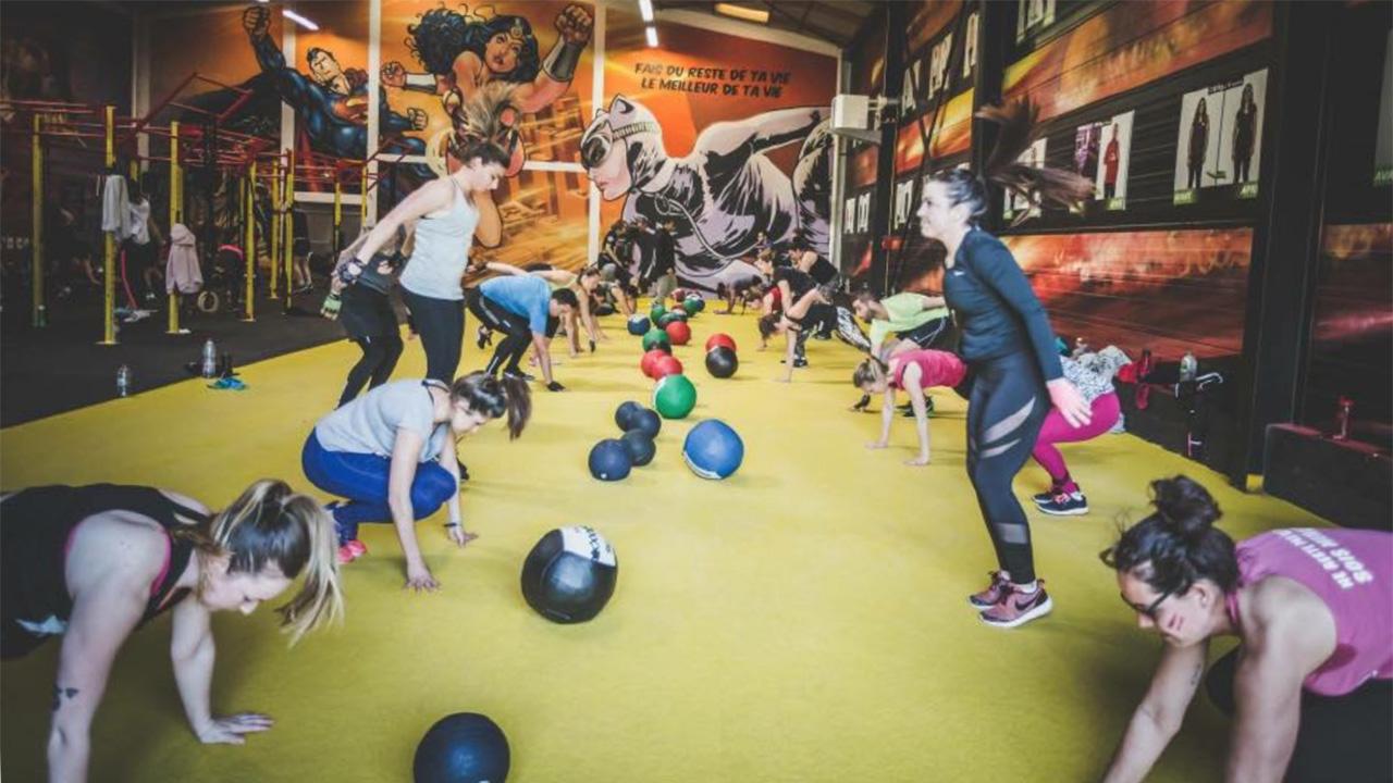 seance hiit training academy