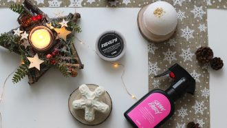 Lush collection de Noël
