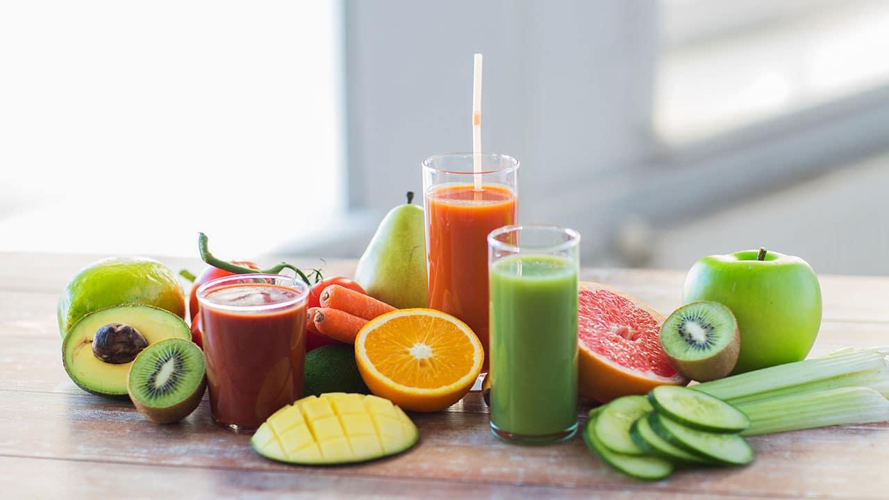 fruits et légumes belle peau