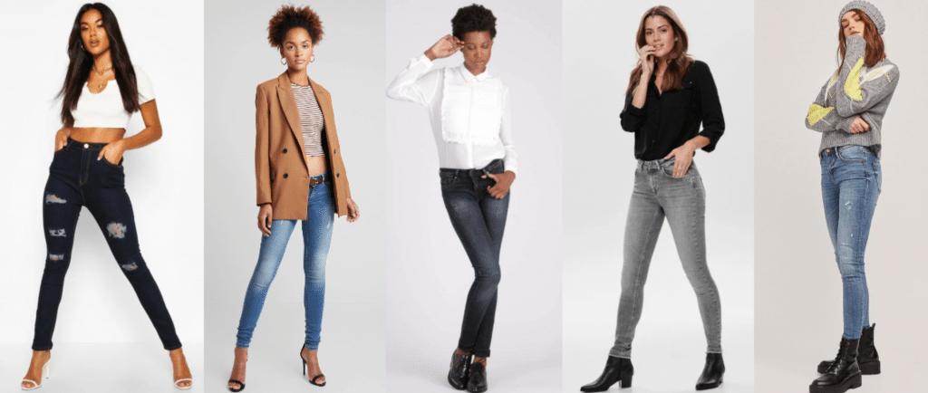 jeans skinny soldes sélection